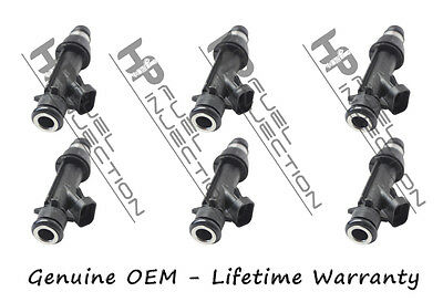 6x Fuel Injectors OEM Delphi for 2000-2004 Chevrolet Monte Carlo 3.4L #25323971
