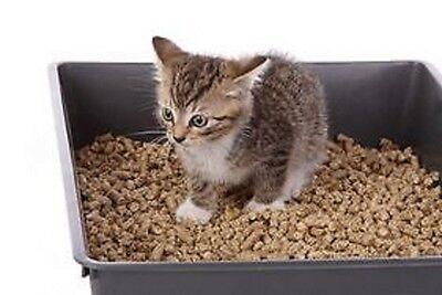Cat Litter made from Wood Pellets-Kitten Small Animal Rabbit Bird Flushable 3