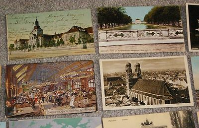 9 of 12 70 1910 1920 era munchen munich germany postcards great lot must see - Munchen Must See