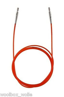 Seil mit 2 Endkappen KnitPro Nadelseil Seilschlüssel