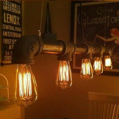Vintage Retro Filament Edison Antique Industrial Style Lamp Light Bulb E27 40W 4