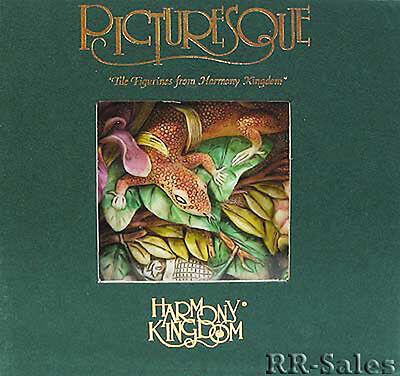 Harmony Kingdom Tiles Byron Secret Garden Lizard /& Snail /& Noah/'s Park Guerrilla