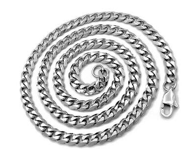 PANZERKETTE PANZERARMBAND Edelstahl Massiv XXL 15-120 cm Halskette Herrenschmuck 10