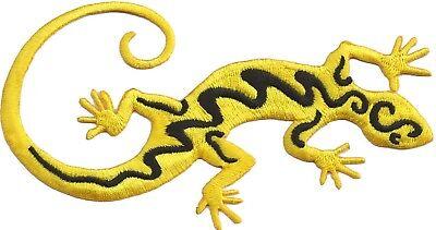 Ecusson patche Gecko Salamandre exclusif patch décoratif thermocollant brodé 2