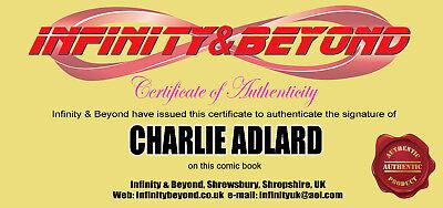 Image Comics The Walking Dead #192 1St Print Signed By Charlie Adlard 2