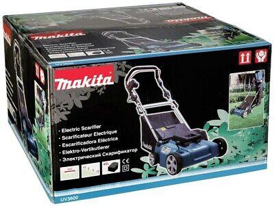 Makita Vertikutierer 36cm UV3600 18oo Watt - Rasenlüfter Rasenvertikutierer NEU 2
