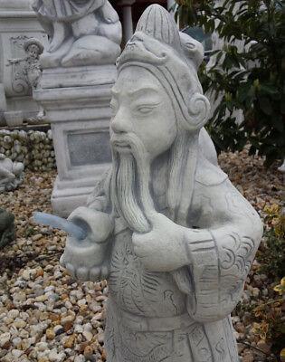 GARTENFIGUREN, FENG SHUI, Buddha, Teichfigur, Skulpturen, Steinguss ...