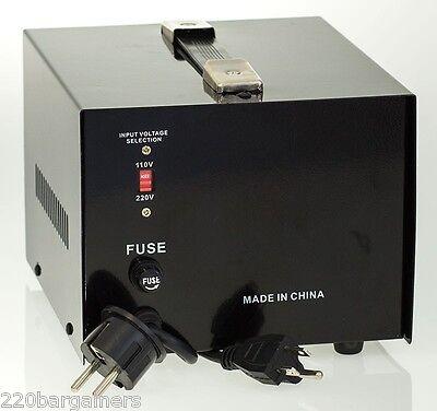 Delux 100 Watt 110v to 220v Transformer Voltage Converter 220 to 110 volt AC100W 2