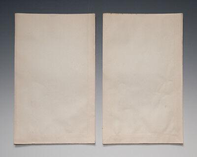 2 x Tüten Vorsicht! Gift mit Totenkopf um 1900