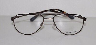 35a85e92bc02 ... GANT GA3125 049 MATTE DARK BROWN New Optical Eyeglass Frame For Men 2