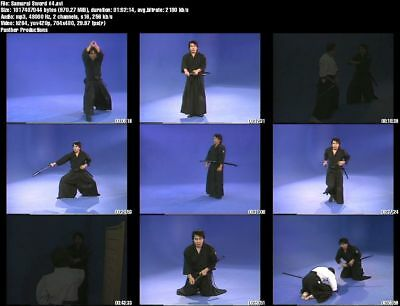 MASAYUKI SHIMABUKURO'S MUSO Jikiden Eishin Ryu Iaido Samurai Sword (7 DVD  Set)