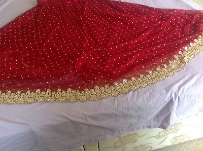 Indian Pakistani Wedding Lengha Anarkali With Blouse Skirt 8