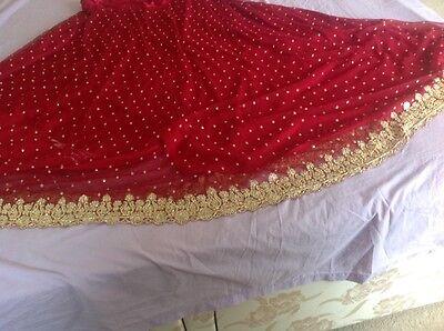 Indian Pakistani Wedding Lengha Anarkali With Blouse Skirt 8