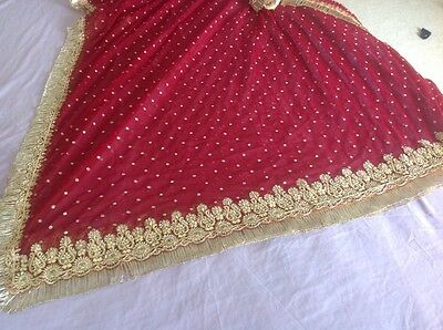 Indian Pakistani Wedding Lengha Anarkali With Blouse Skirt 9