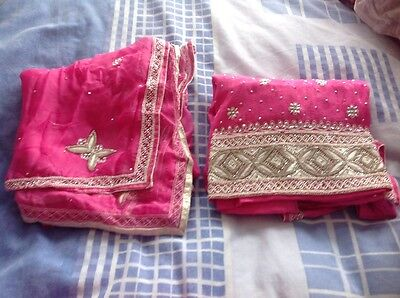 Indian Pakistan party / wedding suit ( 3pc set ) 2