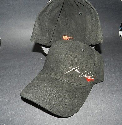 THE USED - black adjustable strap ball cap NEW One size fits most BIO DOMES 2