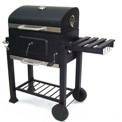 56511 Bbq Barbecue Grill Griglia Carbone Carbonella Ripiano Affumicatore 9