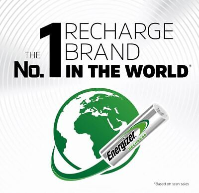 ENERGIZER AAA 700mAh POWER PLUS RECHARGEABLE BATTERIES PRE-CHARGED 3