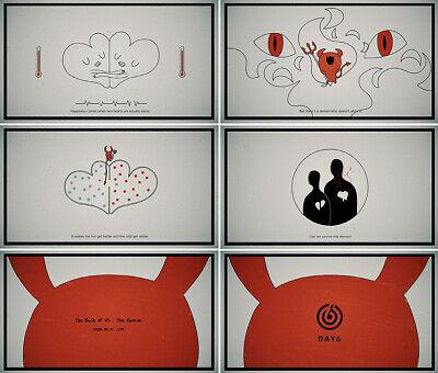 DAY6 BOOK OF US:THE DEMON 6th Mini Album CD+POSTER+Photo Book+Card+etc+Pre-Order 3
