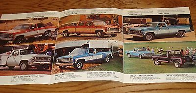 Original 1977 GMC Truck Pickup Sales Brochure 77