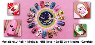 The Grinch Who Stole Christmas Nail Art Waterslide Decals - Salon Quality! 6