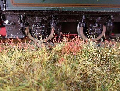 WWS Patchartige Statische Rasen Eisenbahn Kriegsspiele Szenerie
