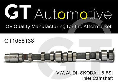 AUDI SKODA VW INLET CAMSHAFT 1.6 FSI BLF BLP 03C109101AT