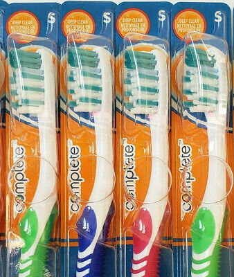 (6) ORAL-B Complete Advantage Deep Clean Compact Soft toothbrushes w' Indicator 3
