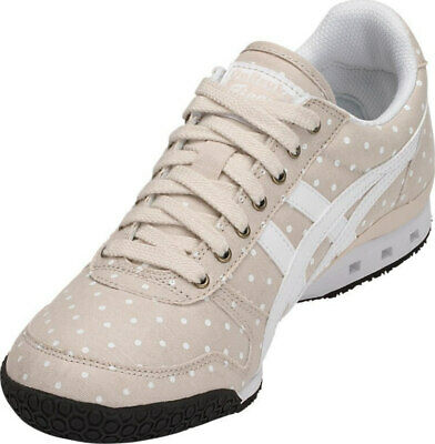 Womens Onitsuka Tiger Ultimate 81 Beige Canvas Retro Casual Trainers Shoes Size 3