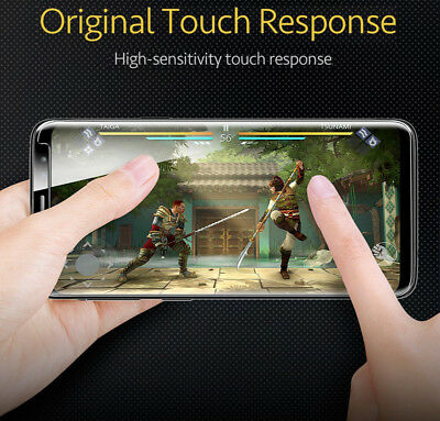 Samsung Galaxy S9 S8 S10 Plus Case Friendly Real Tempered Glass Screen Protector 10