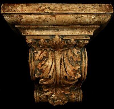Huge Acanthus Leaf Greek Roman Sconce Art Bracket 2