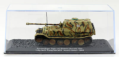 panzer tiger elefant wehrmacht italien 1944 fertigmodell 1. Black Bedroom Furniture Sets. Home Design Ideas