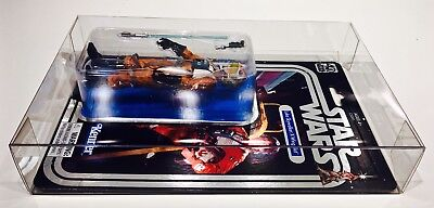 1 Clear Protector For CELEBRATION LUKE X-WING STAR WARS 40TH Display Case Box 7