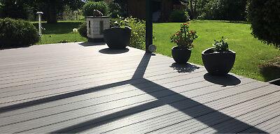 6 Stück Gummi Pad Unterkonstruktion WPC Holz Terrassen Dielen Gummigranulat 3 mm