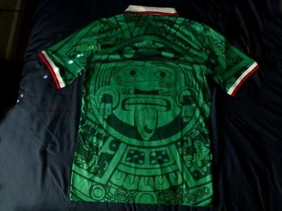 af60a36a84f 1 of 4FREE Shipping New ABA SPORT Mexico 1998 Jersey XL RETRO France NO  NAME shirt Home TRUE SIZE XL