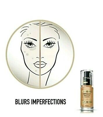 Max Factor Miracle Match Blur And Nourish Foundation - Warm Almond 45 2