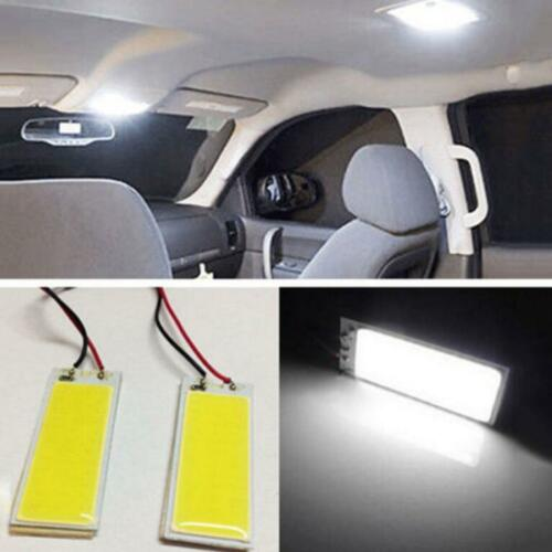 2 X 12V Xenon HID White 36-COB LED Dome Map Light Bulbs Car Interior Panel Lamps 3