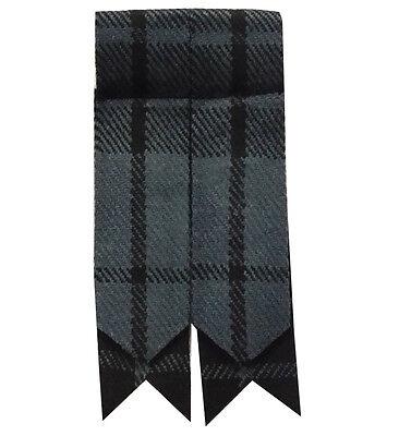 New Mens Kilt Flashes Grey Watch Tartan/Scottish Kilt Hose Scock Flashes Tartan/ 3