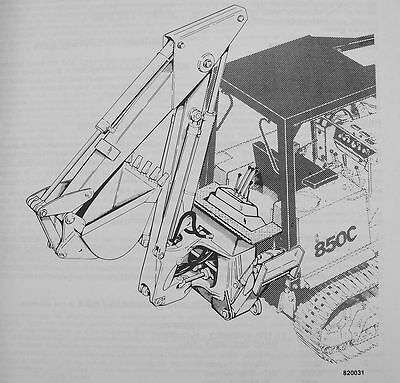 Case Backhoe Parts >> J I Case 35a 35wl Backhoe Parts Manual Catalog Exploded Views 850c W14 Crawlers