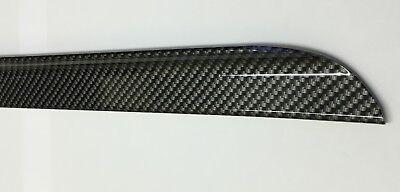 BMW E90 Carbon Fiber 3-Series 4D Saloon Boot Lip Spoiler Wing 2005-11 UK SELLER 3