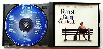 Forrest Gump The Soundtrack 32 American Classics on 2 CD's 1994 Sony 3