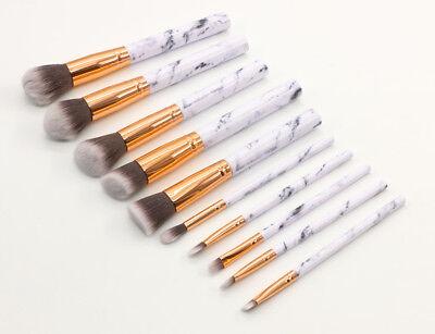 Professional Make up Brushes Set Eye Shadow Eyebrow Makeup Kit Cosmetic Tools UK 11