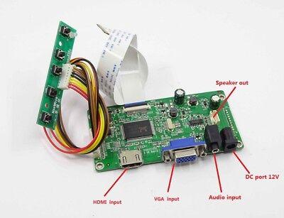 TV HDMI VGA RF LCD LED EDP Driver board for LP156WF6-SPK1 LP156WF6-SPK2 1080P