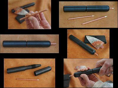 Twist Lock Pressure Flaker - Flintknapping tools, flint knapping, arrowheads, 3
