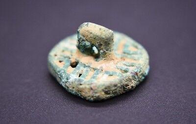 Rare ancient Amlash bronze seal C. 9th - 8th century BC 4