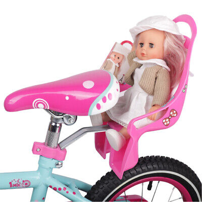 Bike Doll Carrier Seat Kids Girls Seats Post Dolls Holder Stickers Bicycle Kit 6