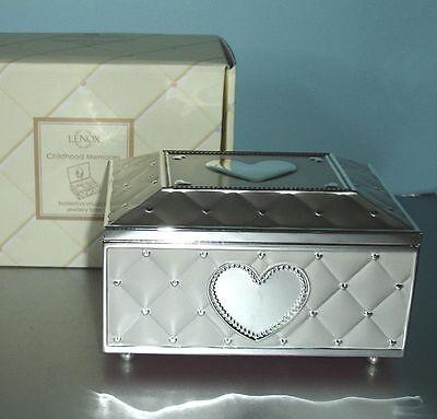Lenox Childhood Memories Ballerina Jewelry Box Inspiration LENOX CHILDHOOD MEMORIES BALLERINA JEWELRY MUSIC BOX NEW 6060