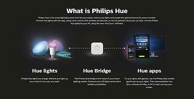 Philips Hue Play White & Color Ambiance Bar Smart Light 2-Pack Black 5