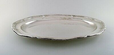 Danish silversmith. Large serving dish in silver (830). Dated 1936. 2