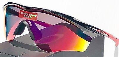 16feeb01c10 ... NEW* OAKLEY M2 BLACK w PRIZM Road Sport Baseball Bike XL Lens Sunglass  9343-